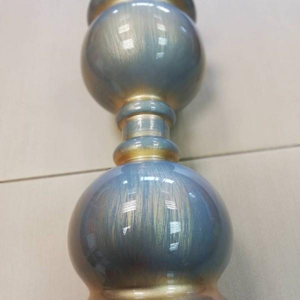 Πατίνα Ασημί - Χρυσό Gloss